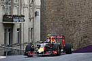 Verstappen na lastige start in Baku: