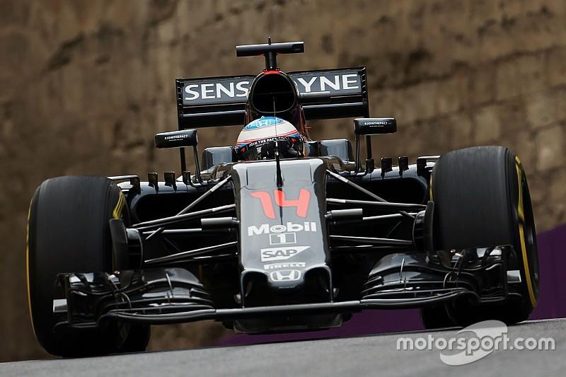マクラーレン/ドライバーコメント ヨーロッパGP金曜日