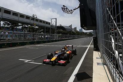 Gara 1: primo acuto di Giovinazzi nel demolition derby di Baku