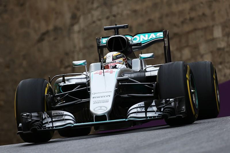 欧洲大奖赛FP3:汉密尔顿再夺第一,窨井盖让博塔斯无缘三练