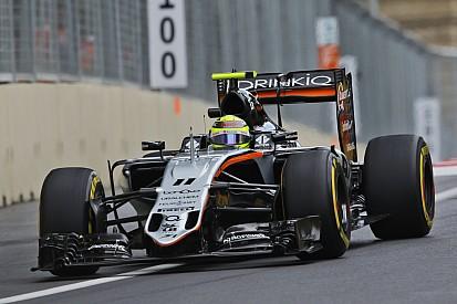 Gridpenalty voor Sergio Perez na versnellingsbakwissel