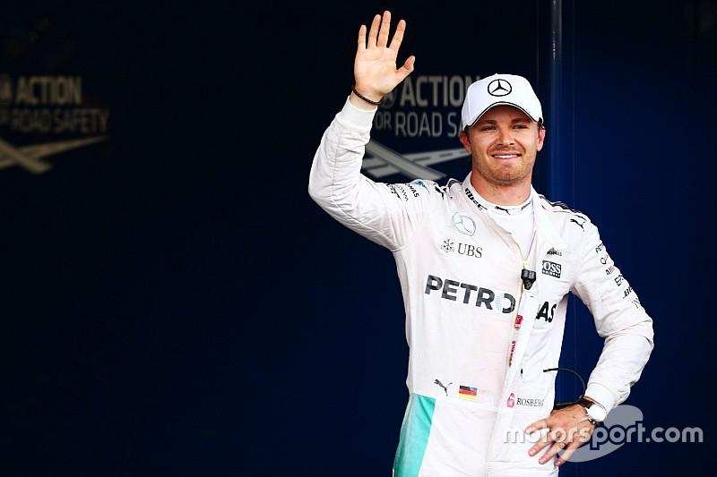Rosberg - N'oubliez jamais Hamilton, il peut remonter de la 10e place
