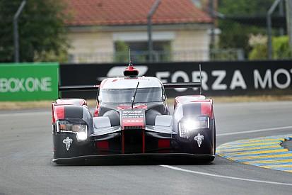 Problemas en el turbo para el Audi Nº 7