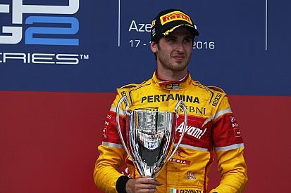 Fotogallery: il trionfo di Antonio Giovinazzi in GP2 a Baku