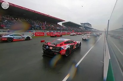 VÍDEO: Largada em Le Mans em 360 graus