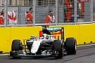 Lewis Hamilton krijgt vervangende linkervoorband voor de race