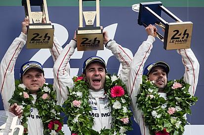 Porsche gana en dramático final en Le Mans