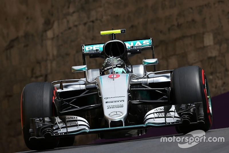 Course - Victoire tranquille de Rosberg, Pérez sur le podium
