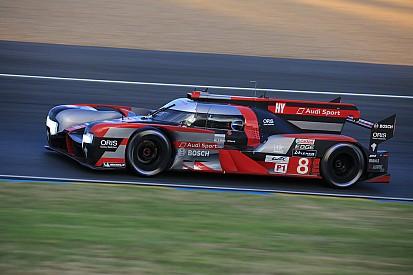 """Un """"sentiment étrange"""" pour l'Audi #8, classée sur le podium"""