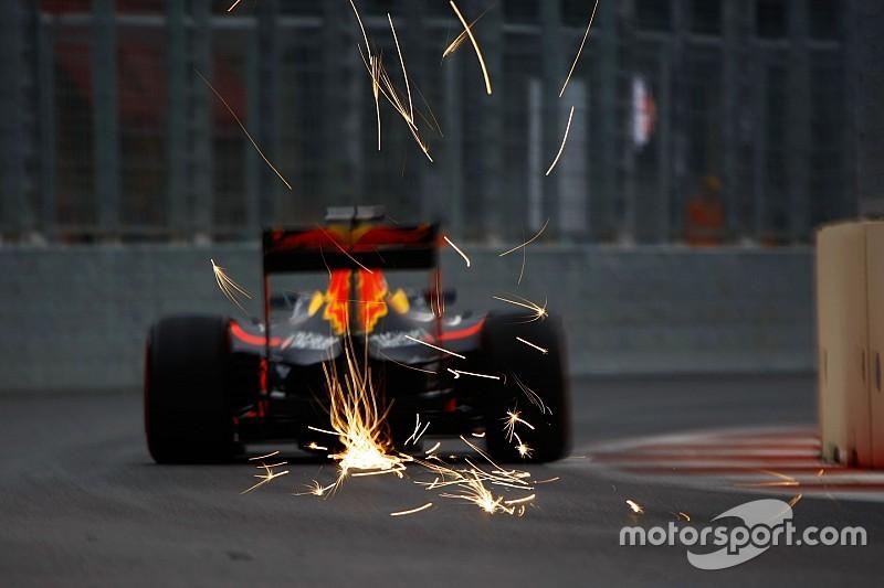 В Red Bull озадачены проблемами с резиной