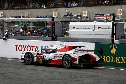 """Toyota: """"La última vuelta no acababa nunca"""""""