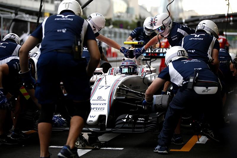 Williams evenaart F1 pitstop record