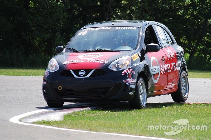 King et Bédard remportent des victoires en Coupe Nissan Micra