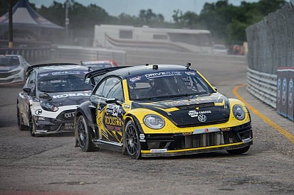 Tanner Foust wins Global Rallycross Daytona II