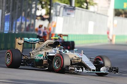 Mercedes Bakü'deki hız avantajına şaşırdı