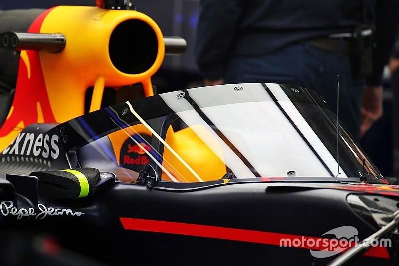 Red Bull Racing stellt Entwicklung des Aeroscreen-Schutzsystems ein