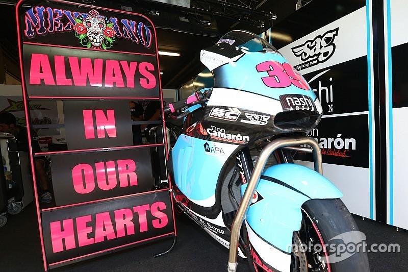 La squadra di Luis Salom continua con una sola moto