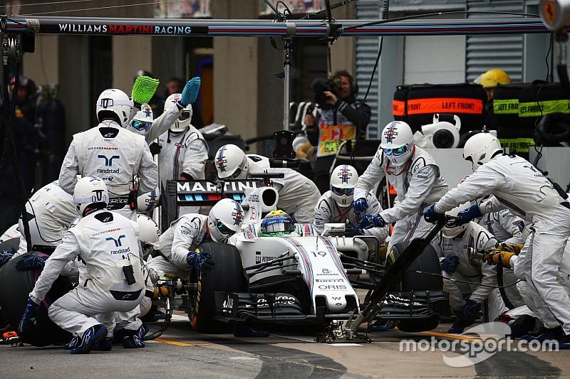 Williams: dados mostram que pit stop de Massa é recorde