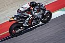 Luthi maakt eerste meters voor KTM MotoGP-team