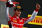 Charles Leclerc maakt Grand Prix-debuut in VT1 Silverstone