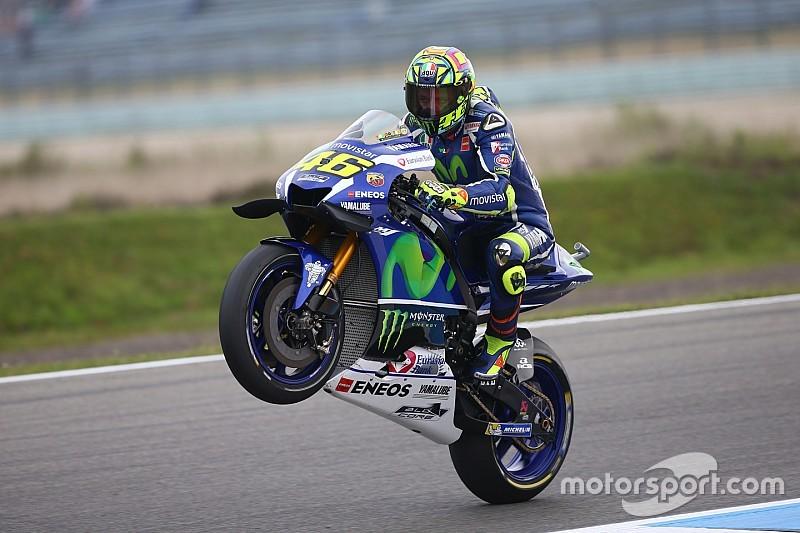 """Rossi descarta el nuevo chasis de Yamaha: """"No me gusta"""""""