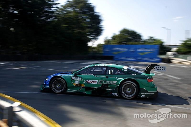 DTM Norisring: Edoardo Mortara im Freitagstraining vorn