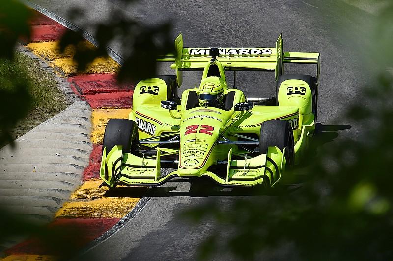 IndyCar-Comeback in Elkhart Lake: Simon Pagenaud setzt erste Bestzeit