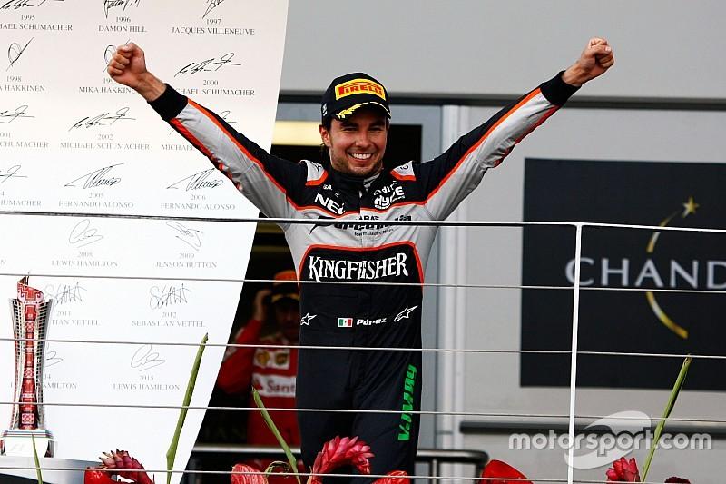 Force India denkt dat Perez blijft ondanks speculatie over Ferrari