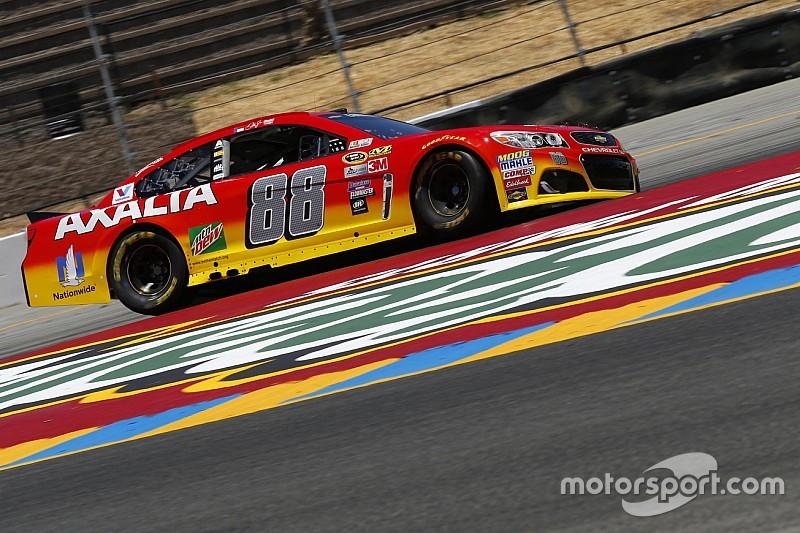 """NASCAR Sonoma: """"Junior"""" Schnellster, Kyle Busch auf Hasenjagd"""
