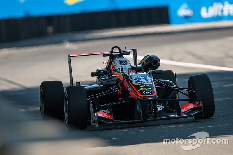 Юбер одержал первую победу в Евро Ф3