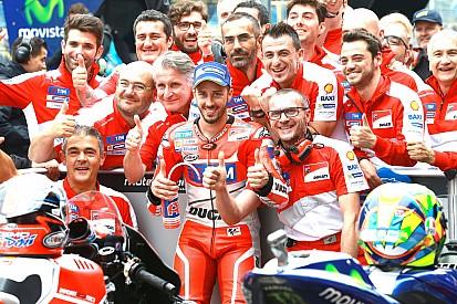 Dovizioso - Une bonne stratégie et un peu de chance pour être en pole