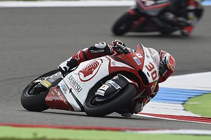 Assen Moto2: Kırmızı bayrakla biten yarışı Nakagami kazandı
