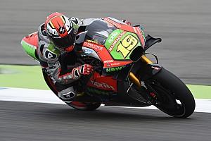 MotoGP Ultime notizie Aprilia: Bautista sfiora la top 5, ma cade all'ultimo giro