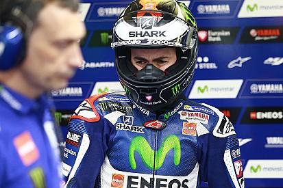 Lorenzo a envisagé d'abandonner la course