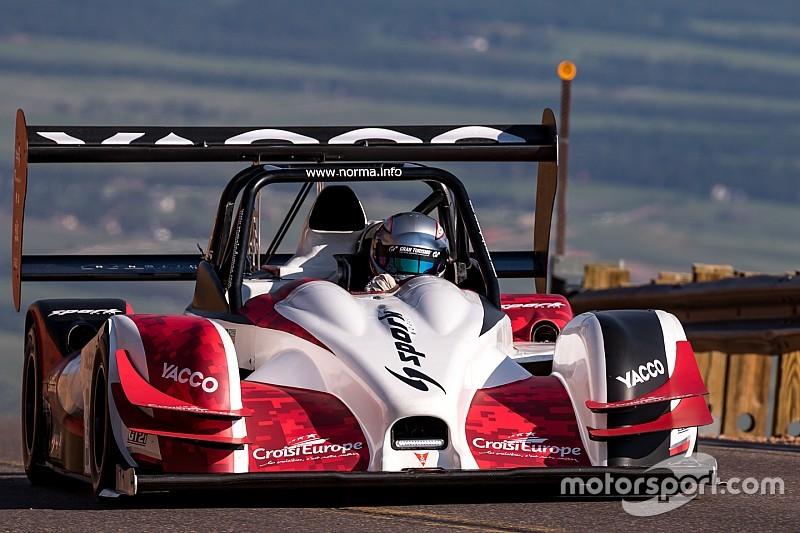 Na Le Mans wint Dumas ook Pikes Peak-heuvelklim