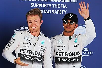 """Hamilton: """"Il rapporto con Nico è sorprendentemente buono ora"""""""