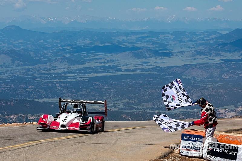Eine Woche nach Le Mans: Romain Dumas siegt auch am Pikes Peak