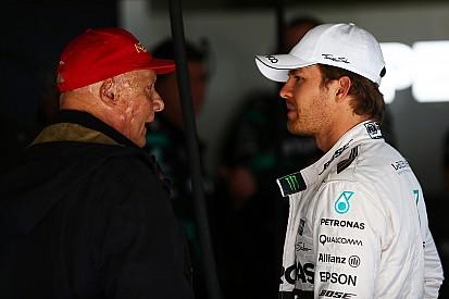 """Lauda afirma que """"he acordado"""" con Rosberg su continuidad en Mercedes"""