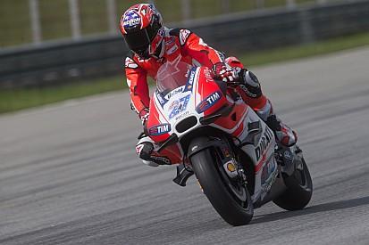 Stoner en piste avec Ducati à Misano