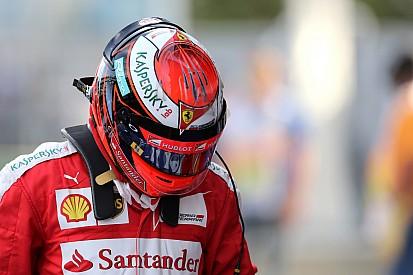 Ferrari: só depende de Kimi provar que merece novo contrato