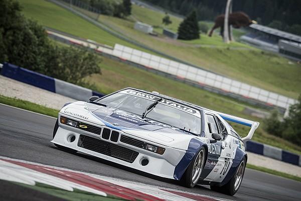 Галерея: Бергер і Кестер тестують BMW M1 Procars в Шпільберзі