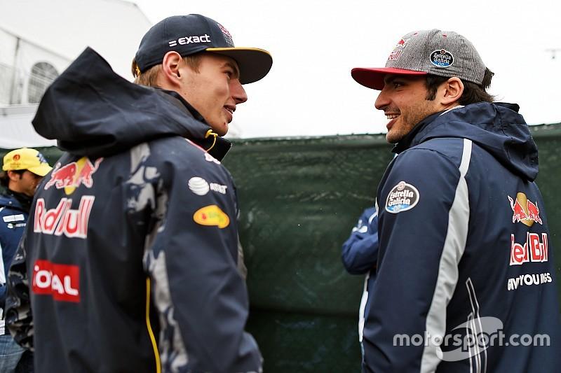 """Verstappen: """"Sin presión, ya vencí a Carlos en Toro Rosso"""""""