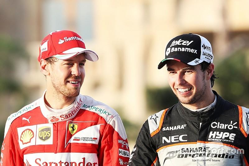 """Pérez dit """"ne pas pouvoir exclure"""" un transfert chez Ferrari en 2017"""