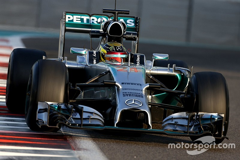 梅赛德斯将派2014年赛车参加银石测试