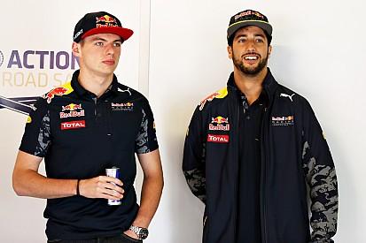 Ricciardo - Aucune raison que la rivalité avec Verstappen dégénère