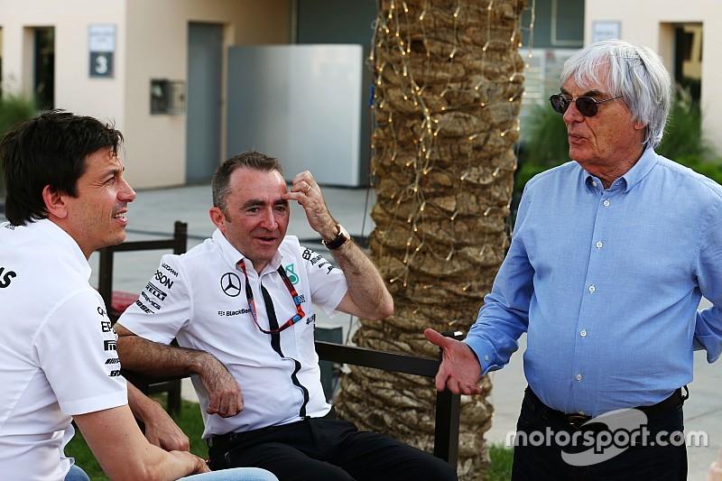 """Ecclestone - """"Mercedes m'a bien eu"""" avec les bonus"""