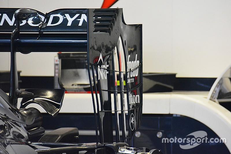 McLaren revoluciona com novo design de asa traseira