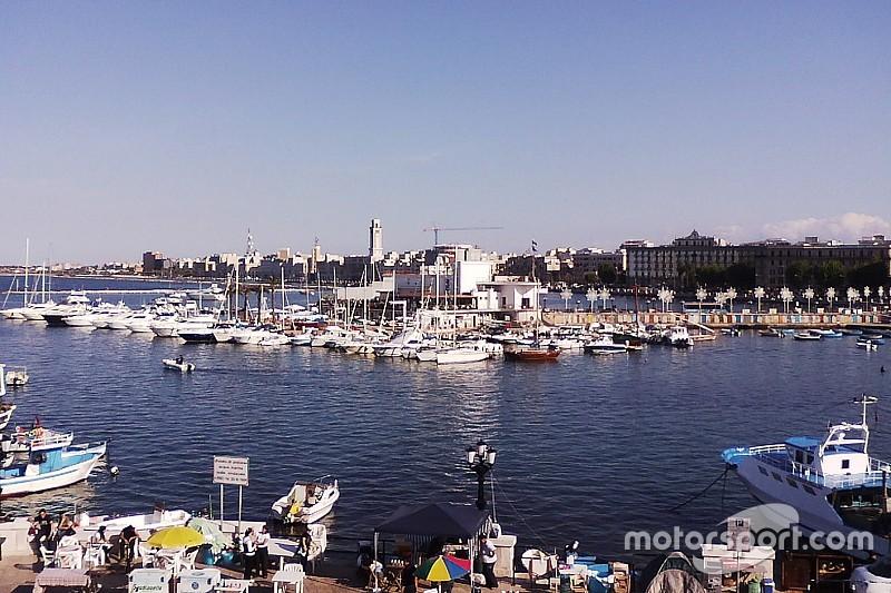 南イタリアのバーリで、2020年から地中海GP開催か?