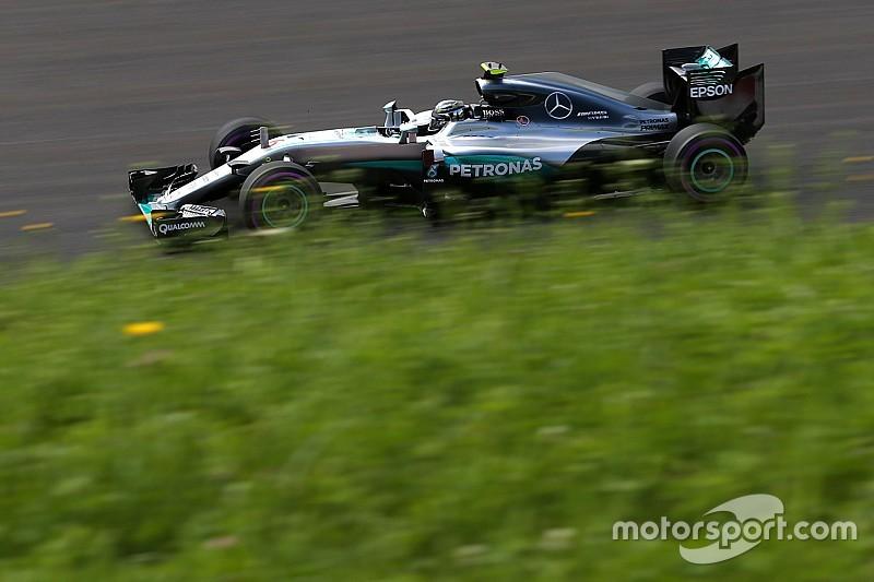 EL2 - Mercedes malgré la pluie; étrange sortie de Vettel