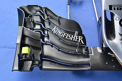 Análise técnica: asa dianteira Force India VJM09